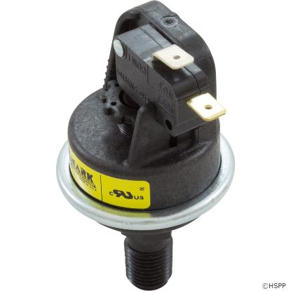 "Pressure Switch, Pentair MMX/MMX Plus/PowerMax, 1/4""mpt, SPNO"